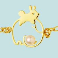 U Jewelry 优集 小动物亲子系列 大象与兔子手链(需用券)