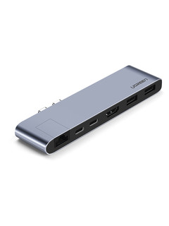 UGREEN 绿联 CM206 五合一 MacBookPro扩展坞 Type-C