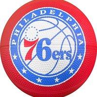 NBA 费城 76Ers SpaldingTeam 标志,蓝色,N