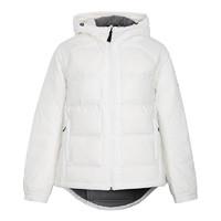 阿迪达斯女装上衣冬季新款保暖加厚外套休闲运动羽绒服DM1945
