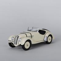 宝马/BMW 328敞篷跑车车模 汽车模型 宝马车模宝马模型 复古 1:18 浅黄色
