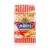 徐福记松软蛋黄沙琪玛470g营养早餐休闲零食品下午茶点心饼干蛋糕点心硬老式零食萨其马糯糕