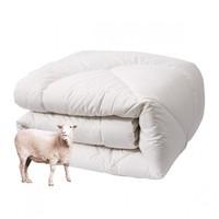 富安娜 1.2/1.5/1.8米床羊毛被澳洲进口被芯双人被子冬被