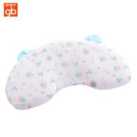 好孩子婴儿透气枕幼儿园宝宝枕头3D可调节四季通用儿童枕头 卡其摩丝透气枕(0-4岁)