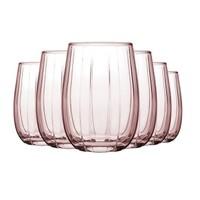 Pasabahce 帕莎帕琦 彩色玻璃杯 380ml*6只 *3件 +凑单品