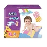 Anerle 安儿乐 薄薄小轻芯 婴儿纸尿裤 XL58片 *3件
