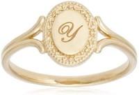 限日码9码 Victorina Initial Ring 大写字母戒指 Y