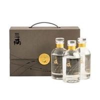 三两 浓香型小白酒液礼盒 52度 150ml*3瓶  *2件
