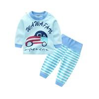小小萌 YR1808GY 婴幼儿睡衣套装