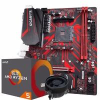 GIGABYTE 技嘉 B450M GAMING 主板+AMD 锐龙 Ryzen5 3500X 板U套装