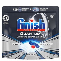 Finish 亮碟 Quantum系列 洗碗机洗涤块 82块 *3件