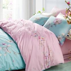 LOVO家纺 清风花意 床上全棉四件套 1.8米床 +凑单品