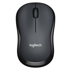 罗技(Logitech)M220 无线静音鼠标 灰色 黑色