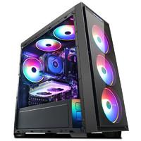 京天 台式电脑主机(R5 2600、8GB、256GB、RX590 8GB)