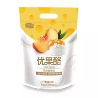 君乐宝 优果酪酸牛奶 黄桃沙棘 100g*8袋