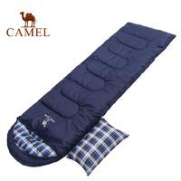 CAMEL 骆驼 A8W03004 单人便携隔脏可拼接睡袋