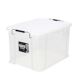 爱丽思 IRIS 多功能收纳箱 整理箱 储物箱 HCT530D透明  透明白 1只装 *3件