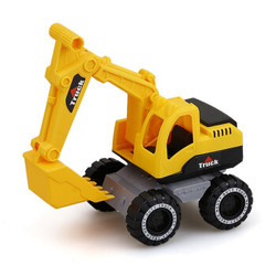 儿童 玩具车工程车挖掘机运输车翻斗车汽车模型 中号挖土机