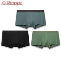 Kappa 卡帕 KP9K10 男士平角冰丝感内裤 3条装