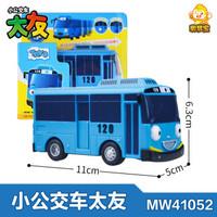 韩国TAYO太友小公交车玩具太有公共汽车儿童男孩宝宝回力小巴士套装 *2件
