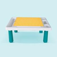 知识花园 儿童积木桌玩具