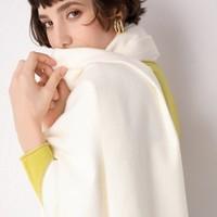 mudulan 牧都兰 女士加厚纯色围巾