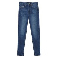 Meters bonwe 美特斯邦威 757563 女士修身牛仔裤