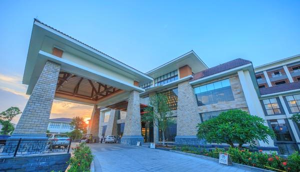 广州三英温泉酒店泉韵合院/别墅C型1晚套餐 含双早+双温泉