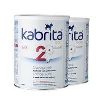 【保税区】【2罐装】Kabrita 荷兰 佳贝艾特 羊奶粉 2段 6-12个月 800g