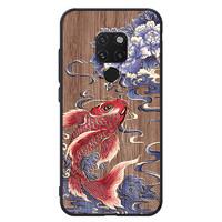 kingpos 华为Mate20/30 木纹浮雕手机壳