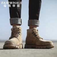MARK FAIRWHALE 马克华菲 男士马丁靴