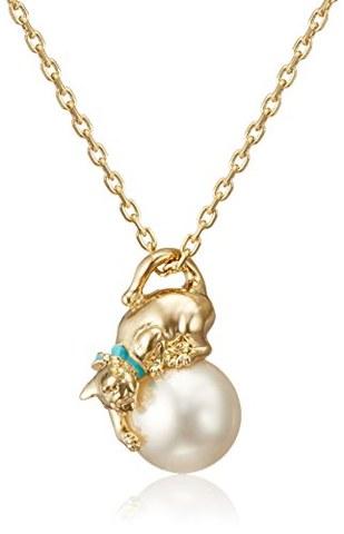 中亚Prime会员:VENDOME BOUTIQUE 女士猫咪珍珠项链