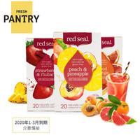 临期品 : Red Seal 红印水果茶 三种口味 50g*3盒 *4件