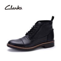 Clarks 马丁靴皮靴黑色261272367 43