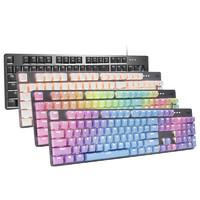 罗技 K845 罗技K845背光机械键盘 (红轴、蓝色妖姬)