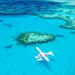 澳大利亚 圣灵群岛 心形礁+白天堂沙滩 一日游(含午餐+接送)