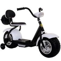 奇客童车306电动车2-6岁儿童电动摩托车三轮车