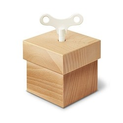 Siebensachen 德国 榉木音乐盒方形
