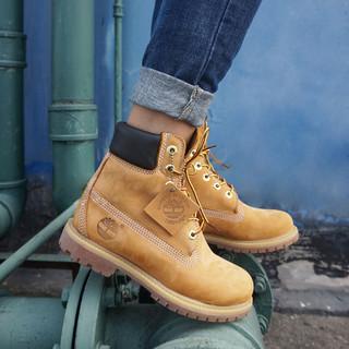 限尺码 : Timberland 添柏岚 6英寸 12909 大童/女子工装靴