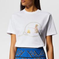 银联专享 : Ganni 甘尼 Harris 女士T恤
