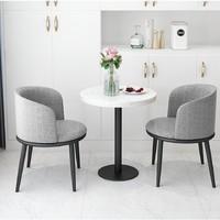 微观世界 106548A 北欧单人沙发椅 *2件