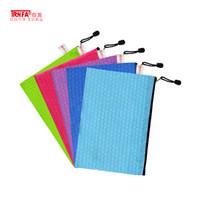 TRNFA 信发 TN-2001-A5 足球纹文件袋 5个装 *5件