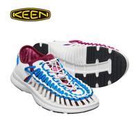 KEEN UNEEK O2男女潮夏季沙滩鞋速干凉鞋溯溪鞋201003 白染色1018711 43