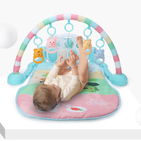 贝恩施beiens脚踏钢琴健身架B216 儿童婴儿0-1岁 早教玩具 环保塑料 布 玩具