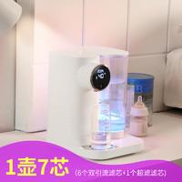 LAICA莱卡净水器KE9401白色过滤一体即热式直饮水机办公室直饮机超滤滤水壶净饮机家用泡奶机