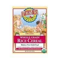 EARTH'S BEST 世界最好 强化铁糙米粉 1段 227g *6件