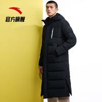 安踏官网旗舰男羽绒服 2019年冬季新款时尚潮流学生男外套羽绒服