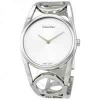 CALVIN KLEIN 卡尔文·克莱 ROUND系列 K5U2M146 女士手镯式腕表