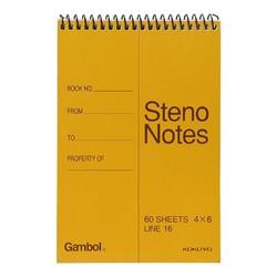 KOKUYO 国誉 Gambol渡边 线圈笔记本 A6/60页 3本装