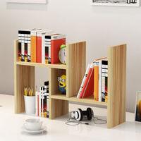 书架简易办公书桌面置物架收纳宿舍小书柜